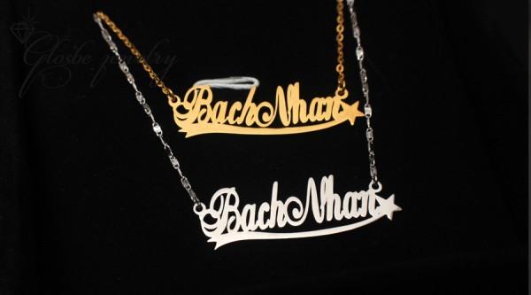 Dây Chuyền Tên Bach Nhan