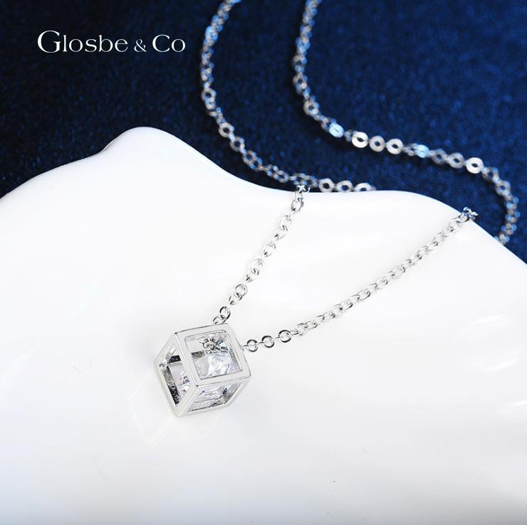Dây chuyền nữ sang trọng Glosbe Design Cube