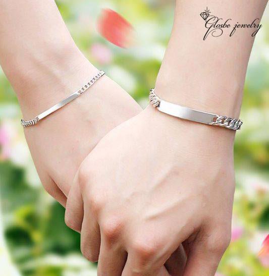 Ý nghĩa của việc tặng lắc tay bạc cặp cho người yêu